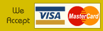 We Accept Master Card, Visa Card, Paypal etc.